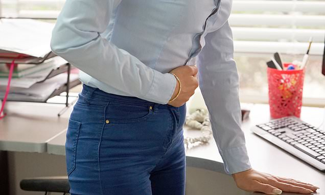 The spine-tickler that eases agony of stomach pains