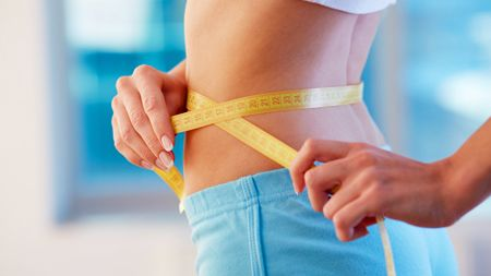 Healthy and fit for ideal weight