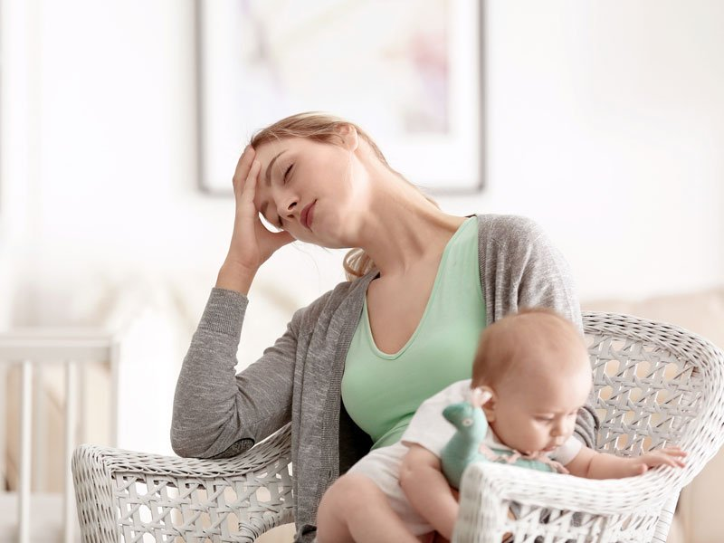 Stressed-out mothers, fat kids?