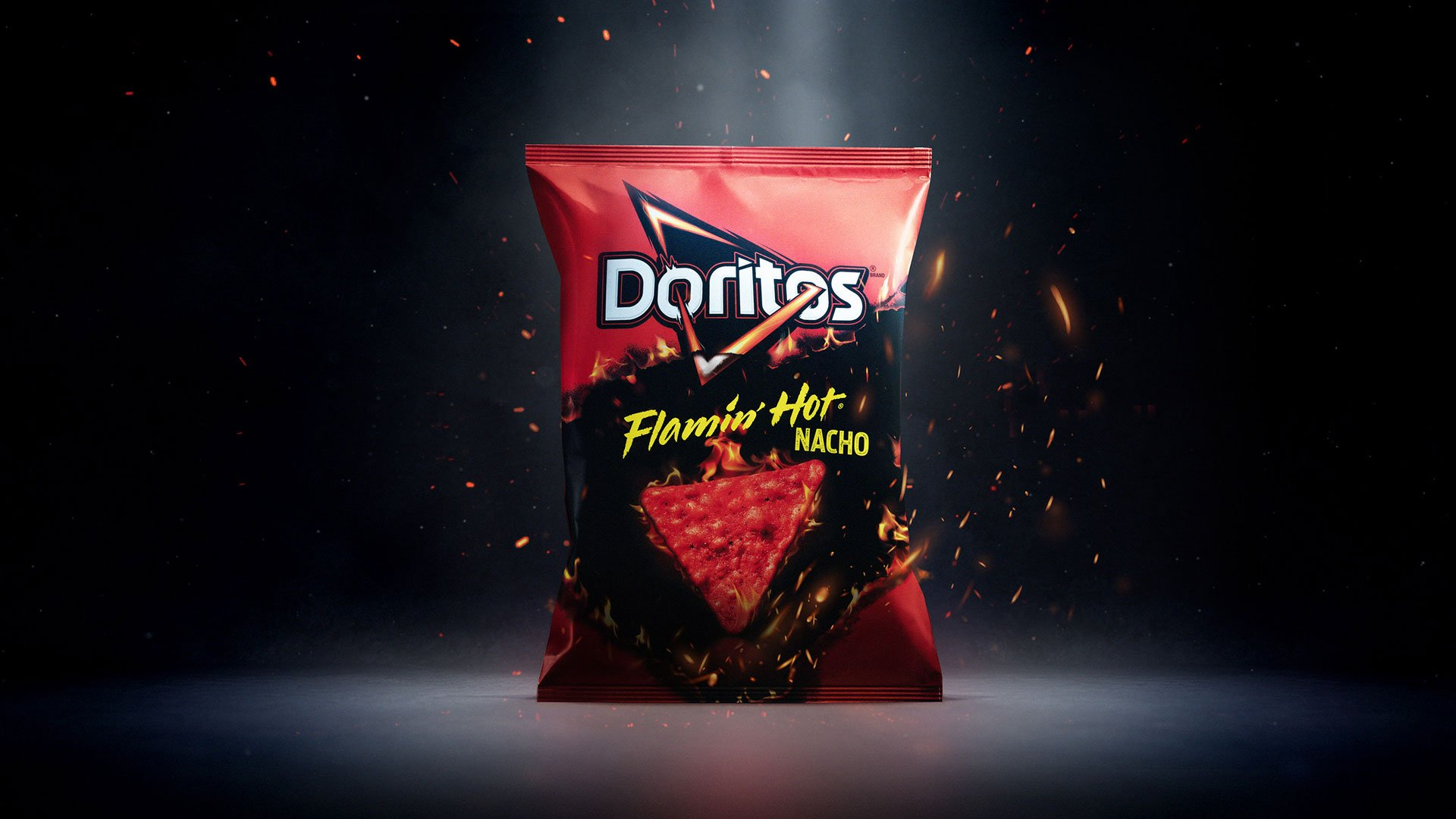 Doritos Releases New Flamin' Hot Nacho Flavor, & We're Obsessed