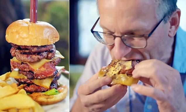 'How gorging on a 6,000-calories burger made me feel I could DIE'