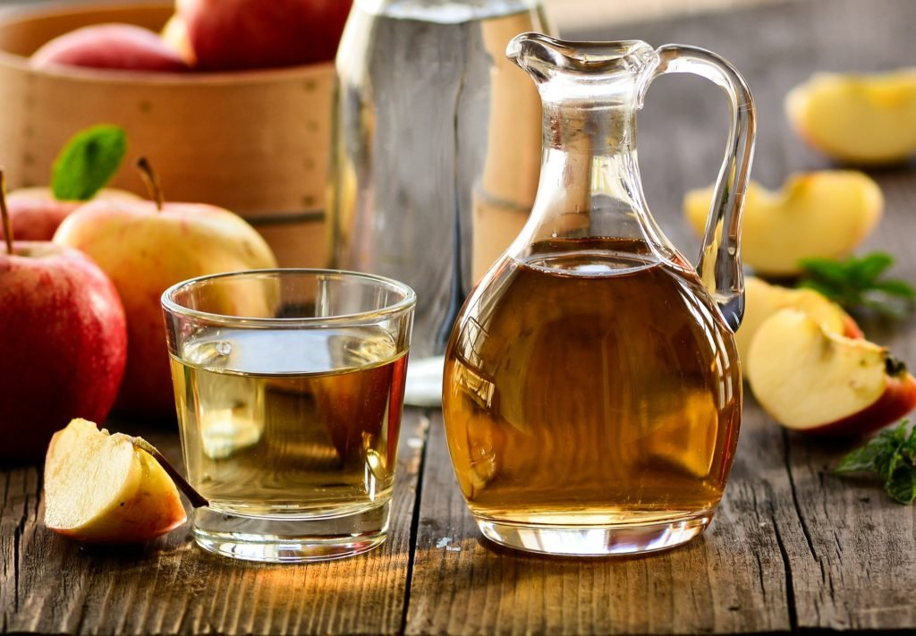 Diet-helpers: Apple cider vinegar stimulates the metabolism and helps this lose weight
