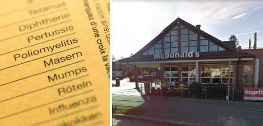Measles outbreak in Munich: Not immune, guests of this McDonald's branch is in danger