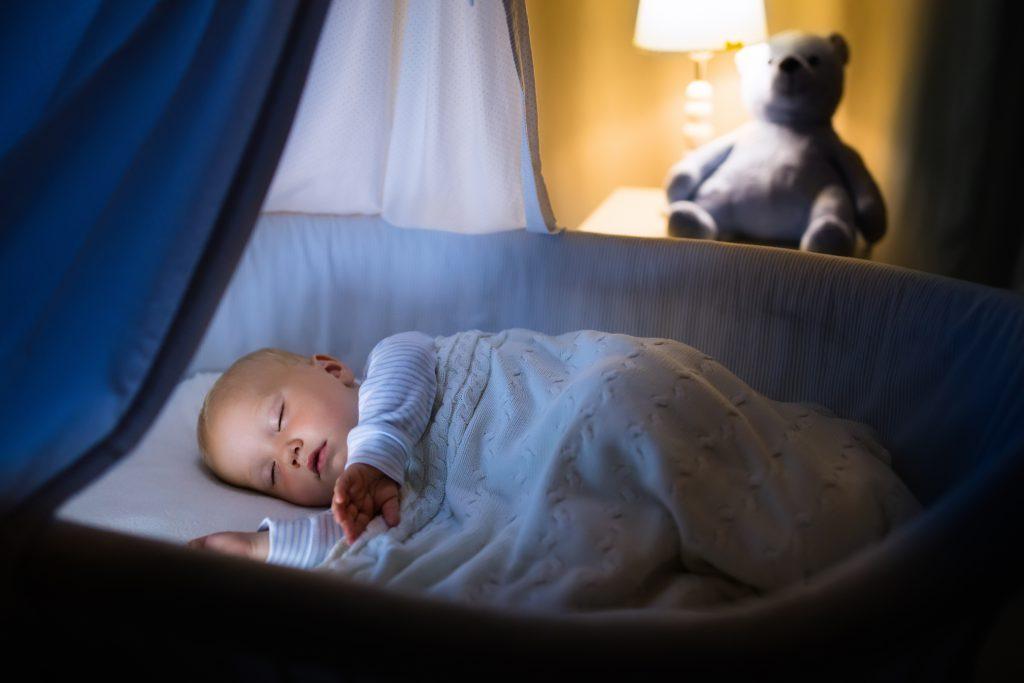 Most of the infants die in their sleep