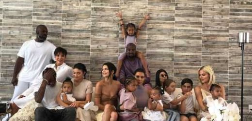 'P Is Missing!' Fans Wonder Where Penelope and Rob Are in the Kardashian Jenner Easter Family Photo