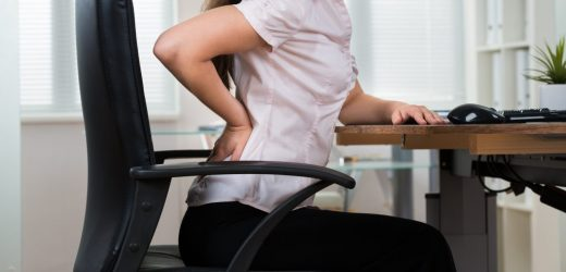 This doctor refuses to sit on: chairs make us seriously ill