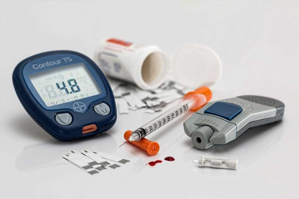 Patients with diabetes are 40 percent more likely to be readmitted to the hospital