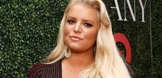 Jessica Simpson Just Shared A Photo Of Herself Working Out In A 'Rubber Corset' Post-Baby
