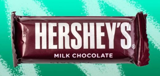Hershey's Is Redesigning Their Iconic Chocolate Bar For the First Time Ever