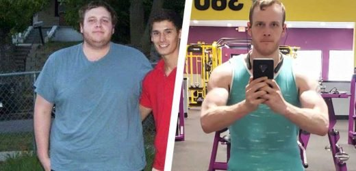 The Diet That Helped This Guy Lose 100 Pounds and Get Jacked