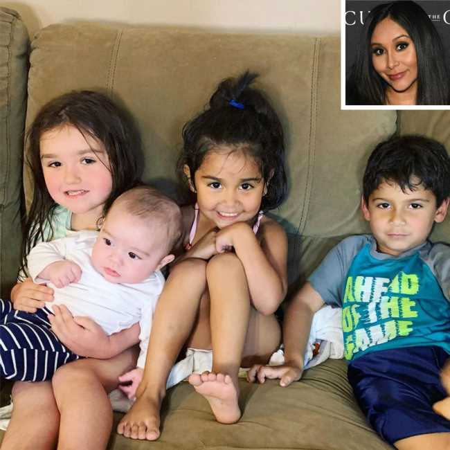 'Jersey Shore 2.0!' Pregnant Nicole 'Snooki' Polizzi Shares Cute Photo of Costars' Kids at Her Baby Shower