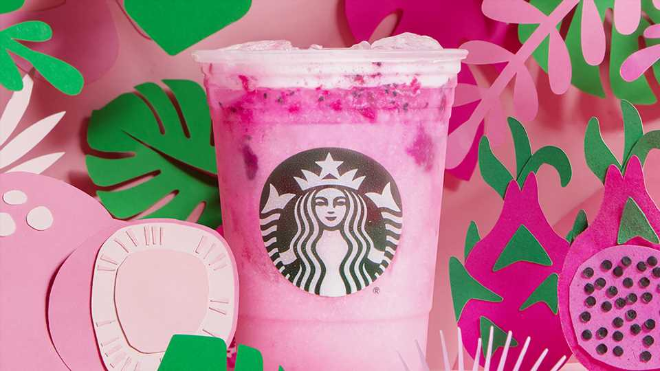 Starbucks' New Dragon Drink is the Perfect 'Game of Thrones' Beverage