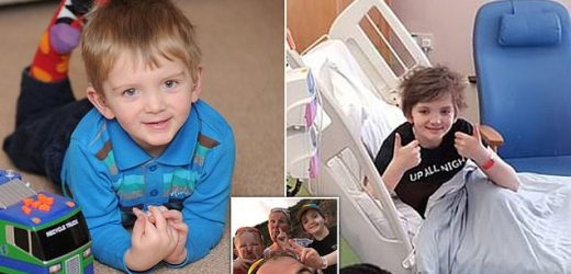 Boy, 11, with a rare blood cancer is told nothing more can be done