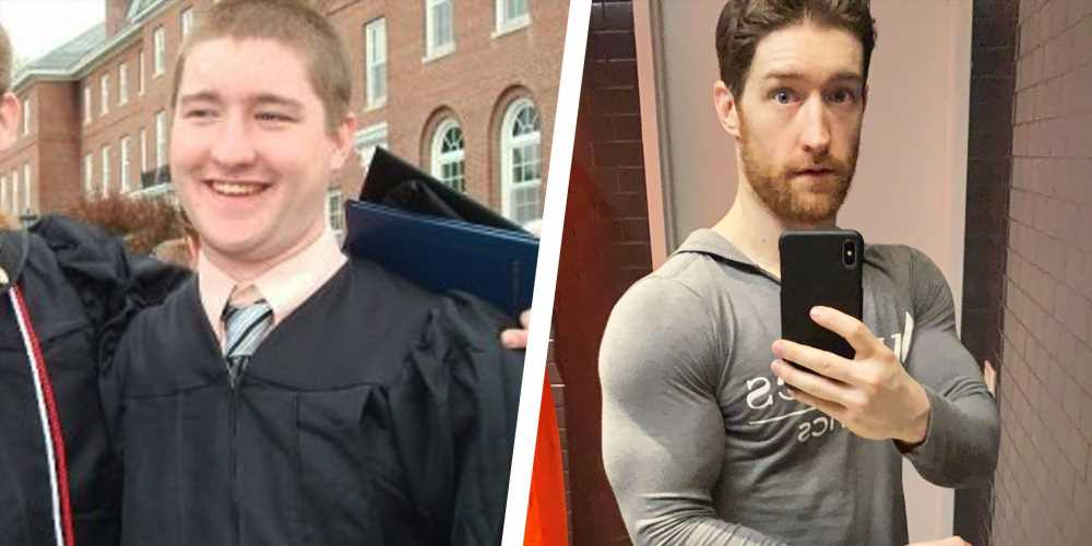 These Small Changes Helped This Guy Lost 50 Pounds and Get Ripped