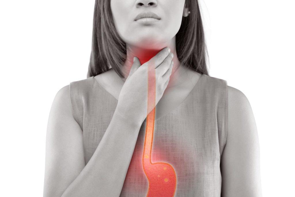 Reflux disease: This helps against heartburn