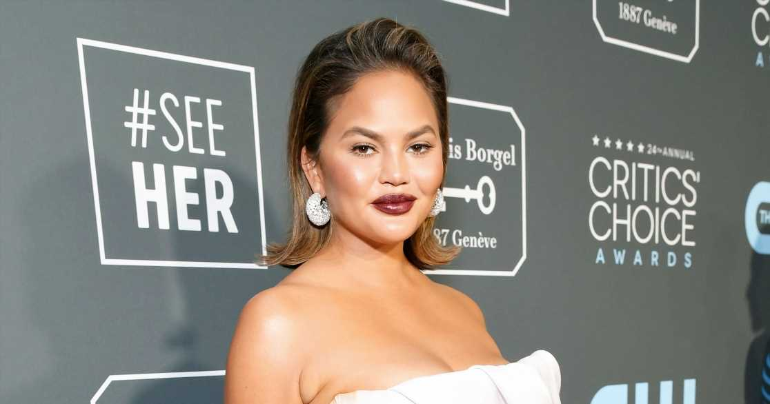 Chrissy Teigen Claps Back When Asked If She's Pregnant: 'Think Twice'