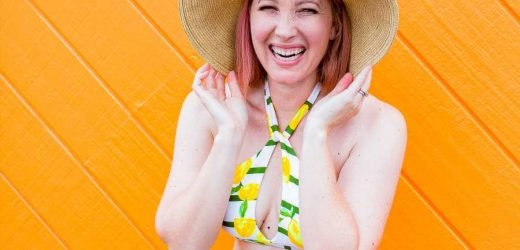 Mom Blogger Behind 'Lipgloss and Crayons' Talks About Her Body Image Campaign #JustWearTheSuit