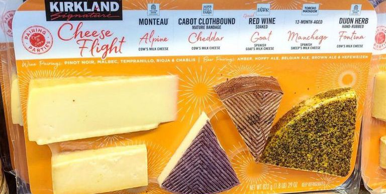 "Costco Is Selling 2-Pound ""Cheese Flights"" for $20 and They're Perfect for Wine Night"