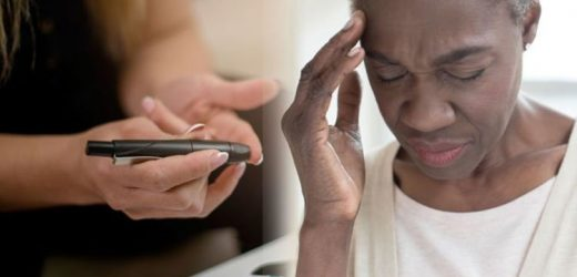 Type 2 diabetes: One major sign your blood sugar level is too low