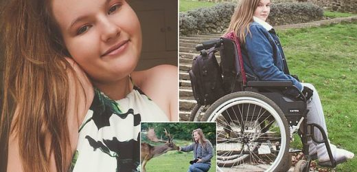 Student told her paralysis was in her head is confined to a wheelchair