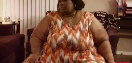 Obese woman whose weight spiraled to 590lbs got down to 221lbs