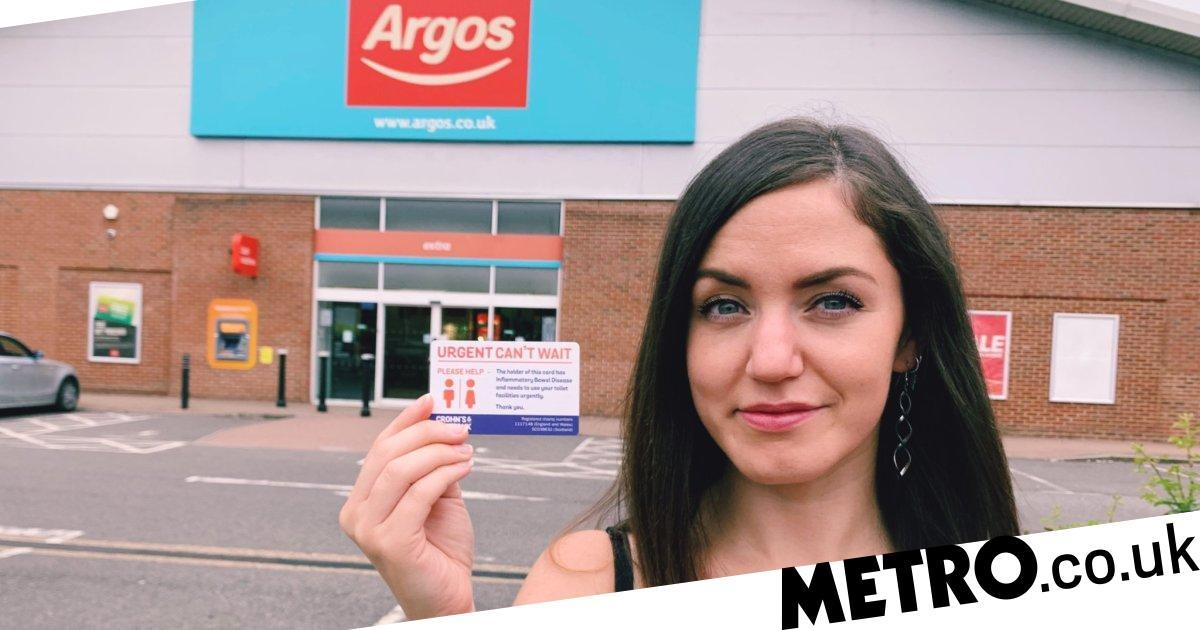 Argos now allows people with bowel conditions to use their staff toilets