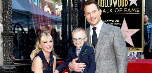 Anna Faris Jokes She and Chris Pratt Make Son Watch Their Movies 'Daily'