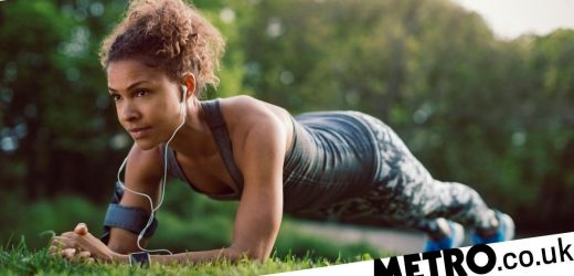 Daily Fitness Challenge: Can you do a moving plank for a minute?