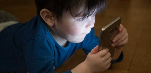 Screen time no child's play