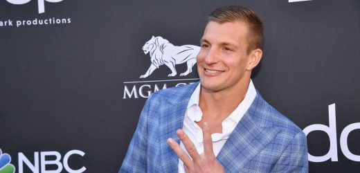 Rob Gronkowski's Skinny Build Proves That He's Officially Retired From the NFL
