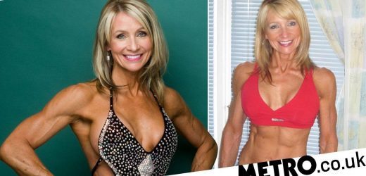 Grandma, 61, wants to show people there's no age limit to bodybuilding