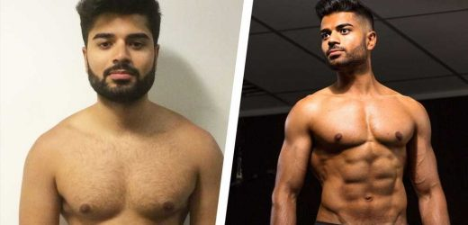How Switching Up His Diet and Workout Helped This Guy Get Shredded