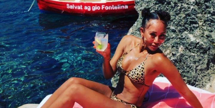 Spice Girls' Mel B. Just Showed Off Her Super Toned Abs And Arms In A Leopard Bikini