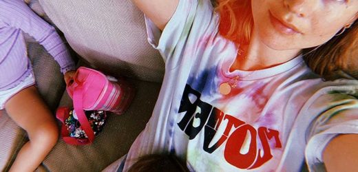 Behati Prinsloo Shares Cozy Snap with Her Daughters to Bring Awareness to Maternal Mortality