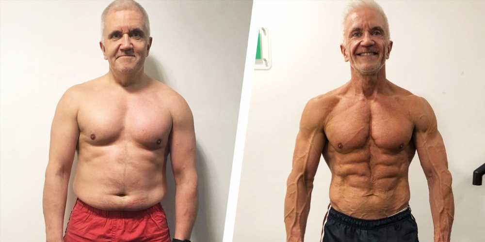 How This Guy Went from Being Out of Shape to Winning Bodybuilding Competitions in His 50s