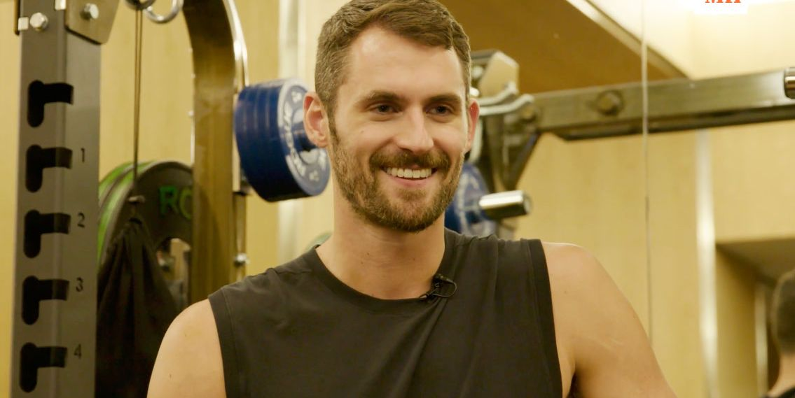 We Got an Inside Look at Kevin Love's Offseason Training and Diet