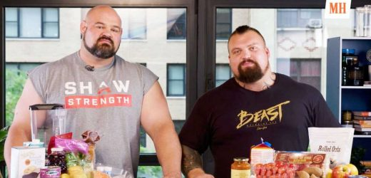 Here's How the World's Strongest Men Eat Over 10,000 Calories in a Single Day