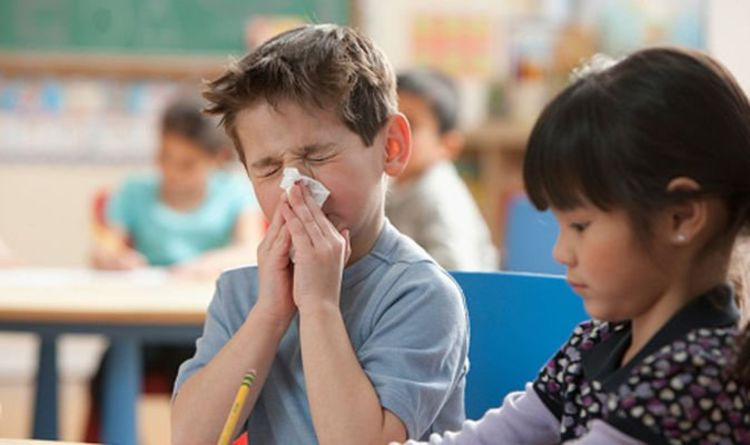 Millions of Brits put other kids at risk by sending sick children into school