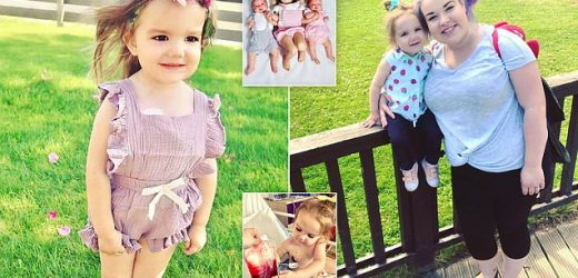 Mother begs for blood donations that keep her two-year-old alive