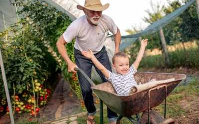 Time with the grandchildren, improves health