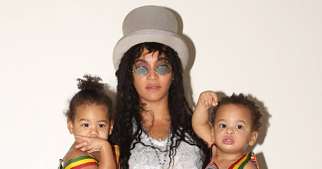 Beyonce Posts Throwback Halloween Pic With Twins Sir and Rumi