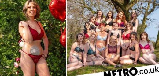 14 women strip down to underwear and show stoma bags for new charity calendar