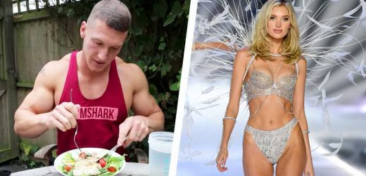 Watch This Bodybuilder Try Eating Like a Victoria's Secret Model