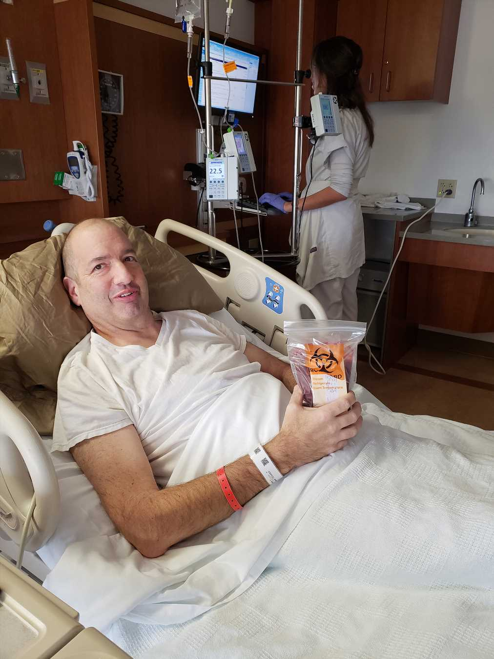 Ohio Man Learns Painful 'Bug Bite' Is Actually Leukemia: I Thought It Was 'Nothing'