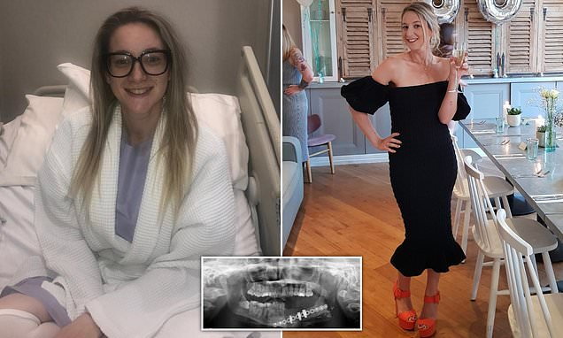 Woman's hip bone used to rebuild her jaw destroyed by a tumour