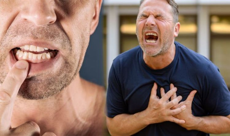 Heart attack: Noticing a symptom in your mouth could be a warning sign
