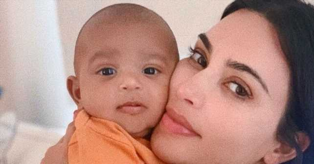 Watch Kim Kardashian's 4-Month-Old Son Psalm Try to Talk in New Video