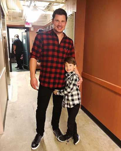 Nick Lachey Says His Son Camden, 7, Loves Singing but 'Unfortunately, Has His Dad's Dance Moves'