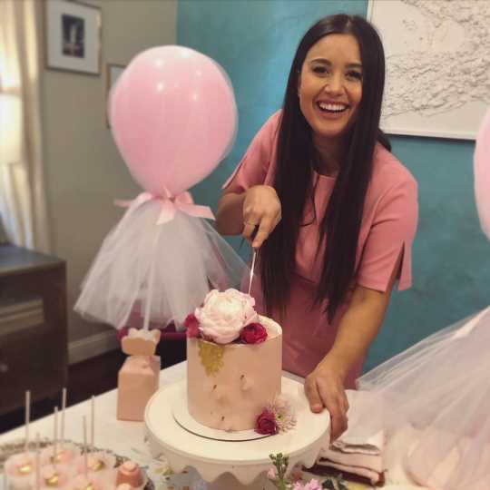 Why Pregnant Catherine Giudici Lowe Threw Herself a Pink Shower Despite Not Knowing Baby's Sex