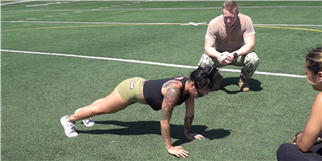Watch Two CrossFitters Try to Complete the U.S. Navy Physical Readiness Test
